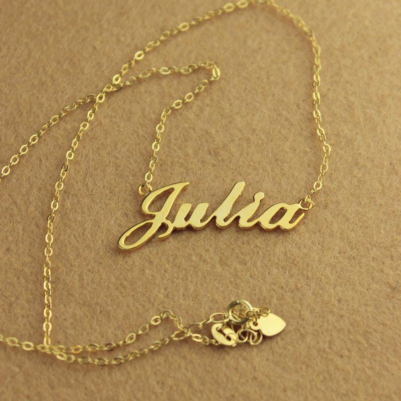 Julia Name Necklace